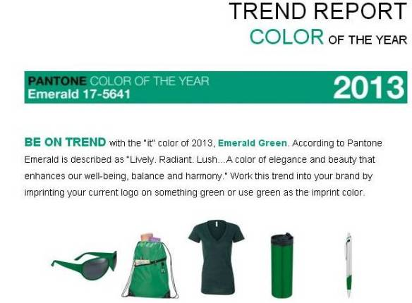 COLOR OF 2013